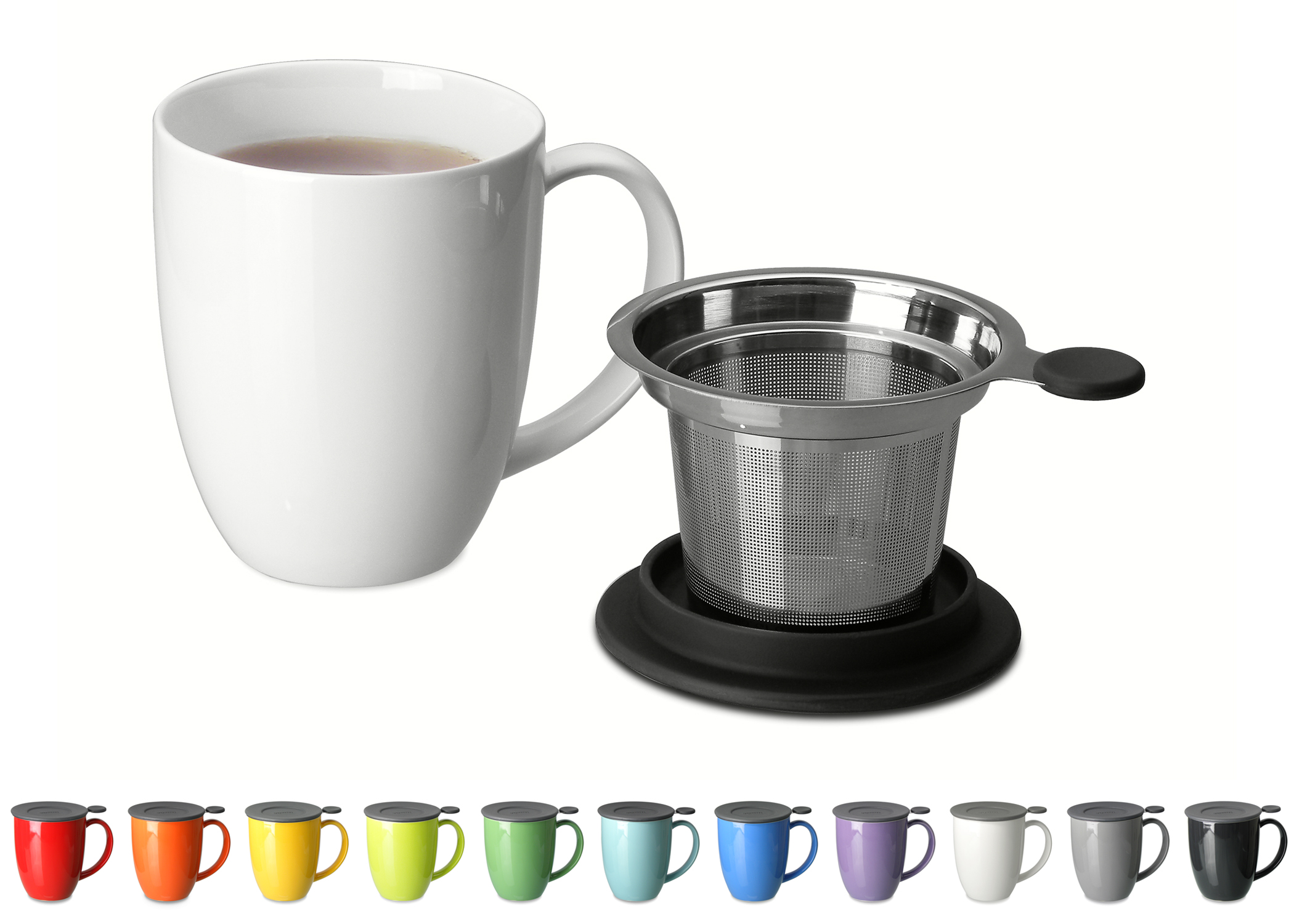 Uni Brew In Mug Makes Single Serve Tea Easy Kitchenware News Amp Housewares Reviewkitchenware