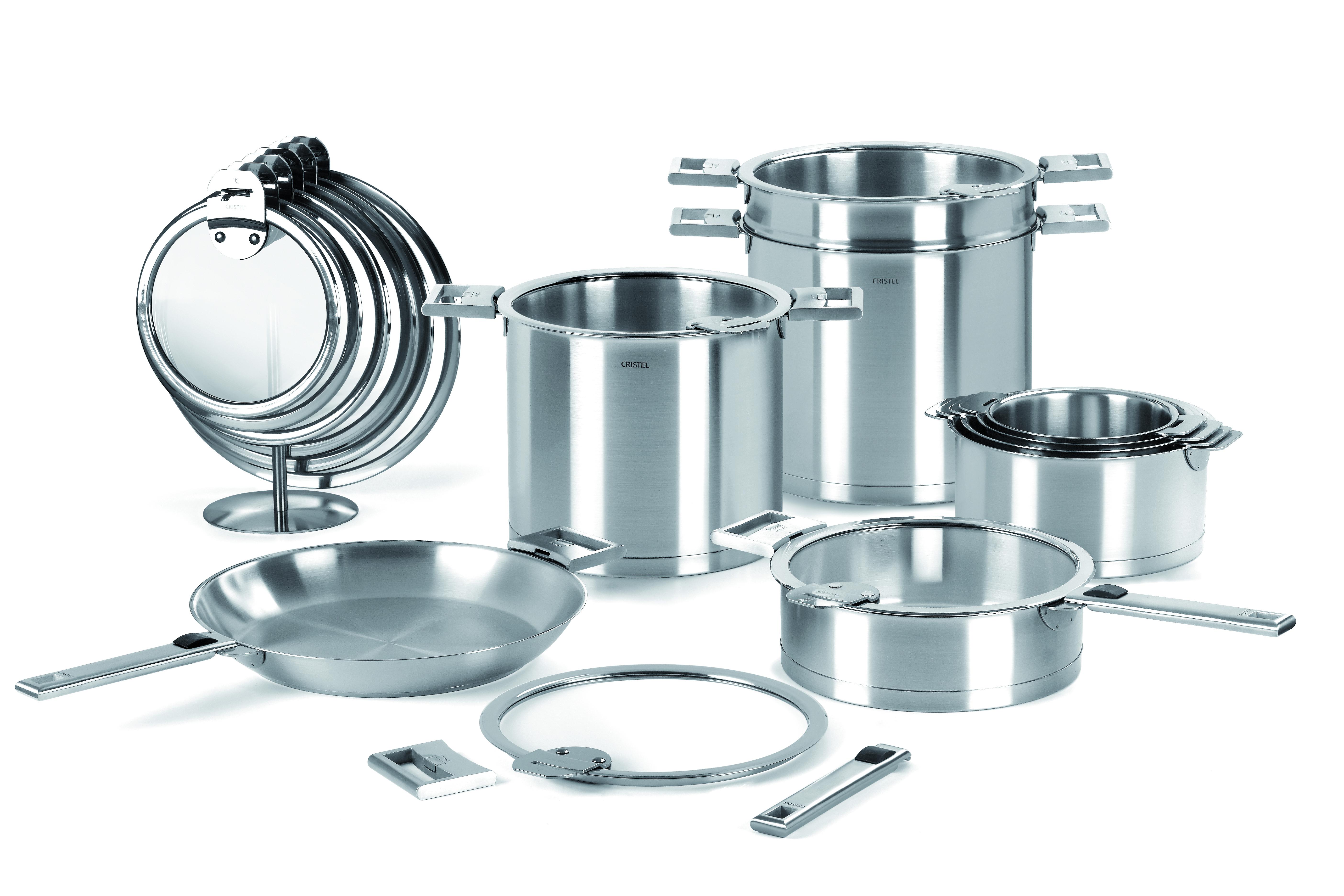 cristel cuisine design et fabrication franaise with cristel cuisine fabulous lot de casseroles. Black Bedroom Furniture Sets. Home Design Ideas