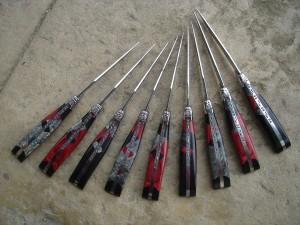Atelier du Réquista Cube Rouge knives