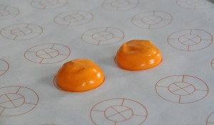 Macshapes pre printed parchment paper for piping macarons