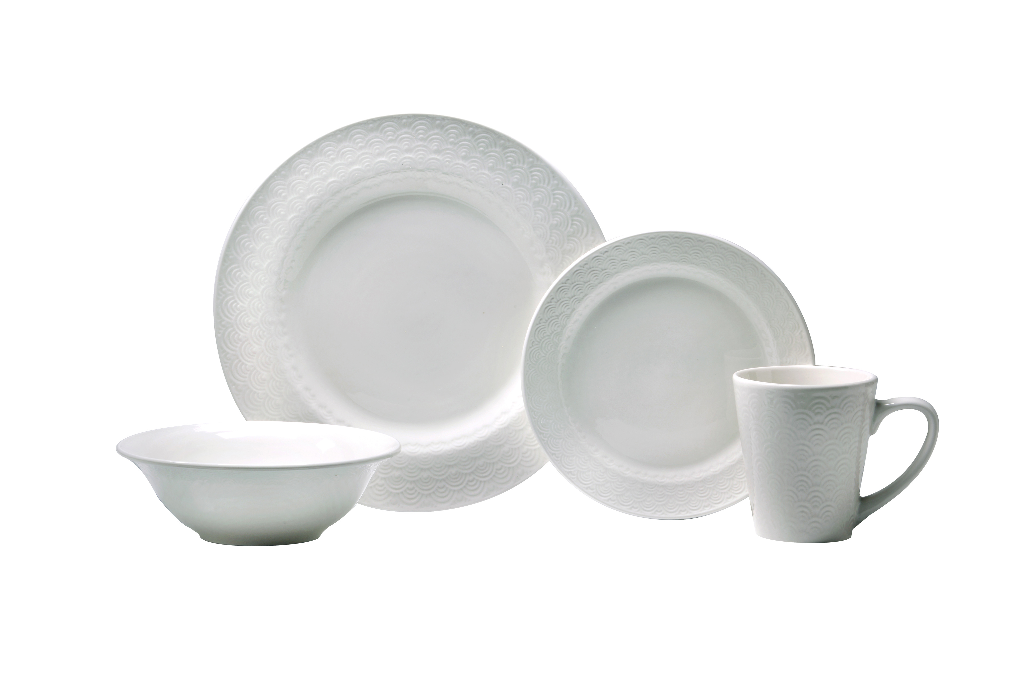 New Kato pattern  sc 1 st  Kitchenware News & Oneida Dinnerware Caught In All-White after Labor Day | Kitchenware ...