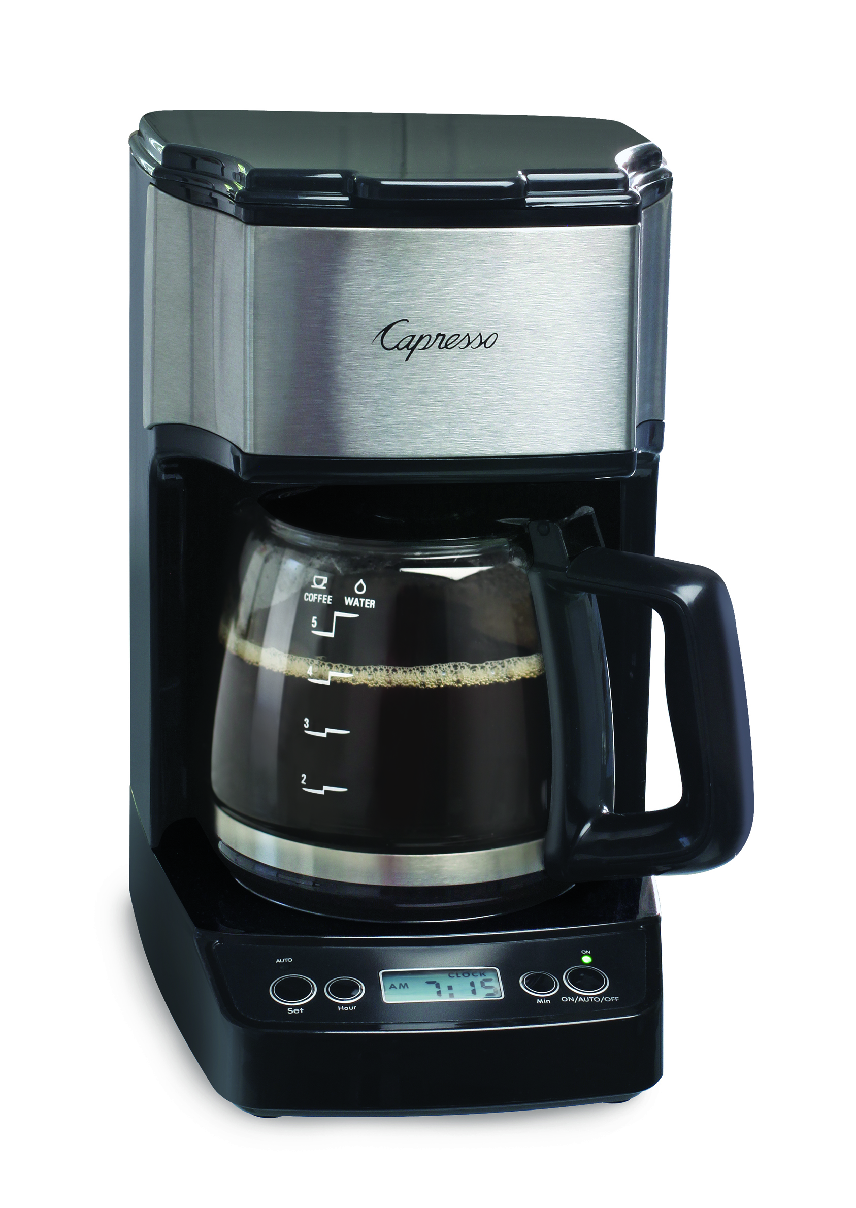 New Capresso Mini Drip 5-Cup Programmable Coffee Maker Kitchenware News & Housewares ...