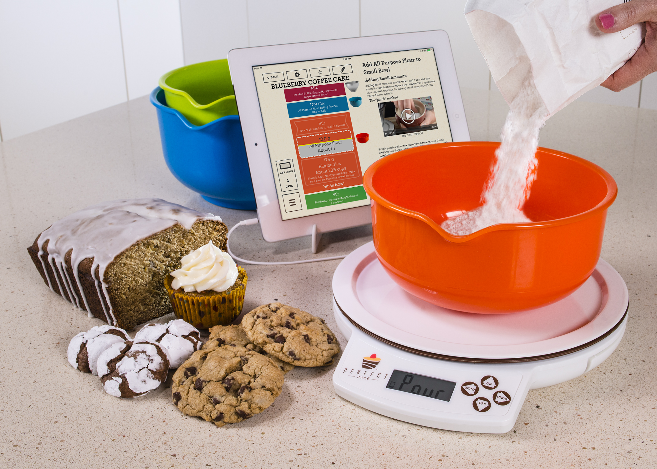 Pure imagination issued patent for culinary system that for Perfect bake scale system