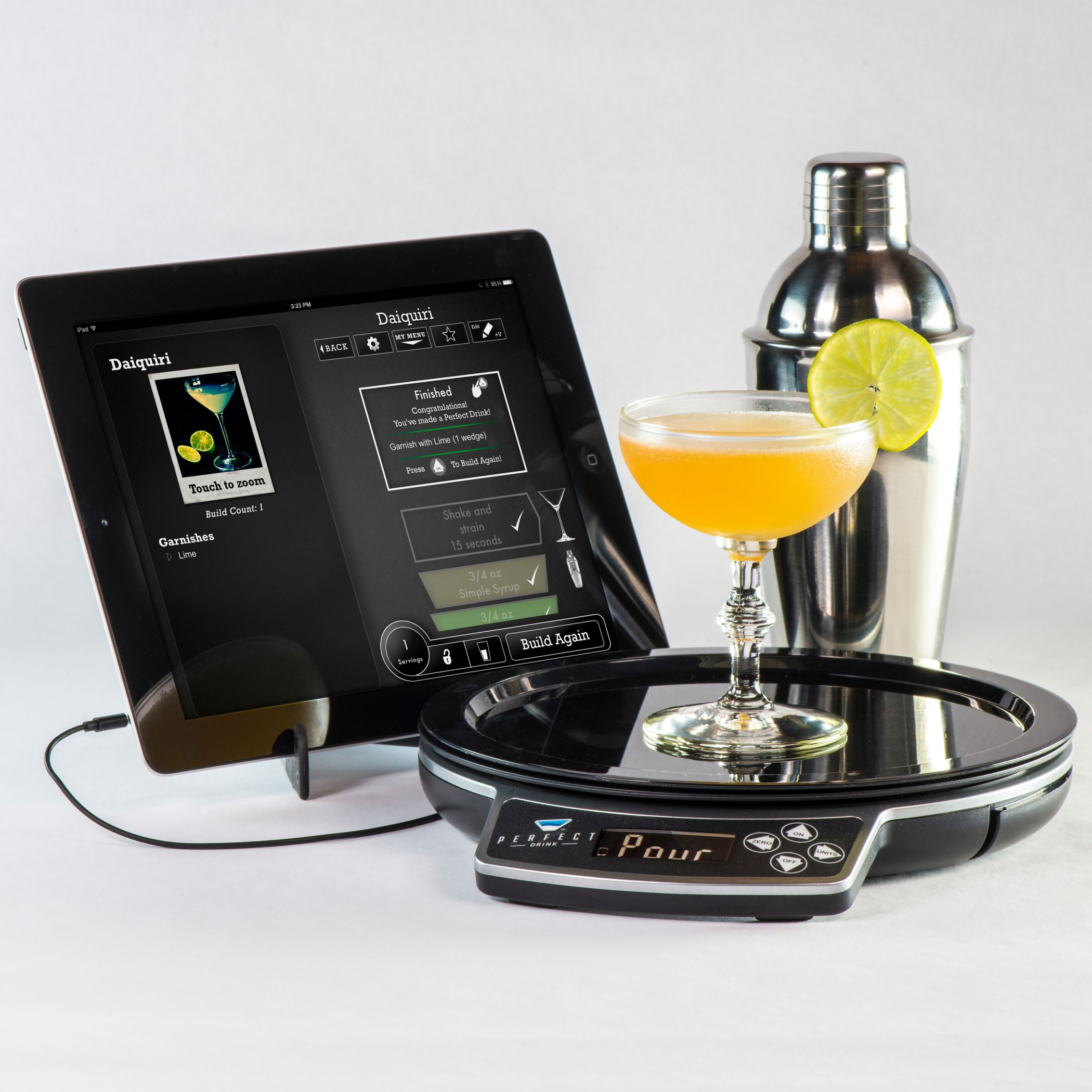 Pure imagination issued patent for culinary system that for Perfect drink bluetooth scale