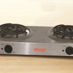 IMUSA Stainless Steel Double Burner