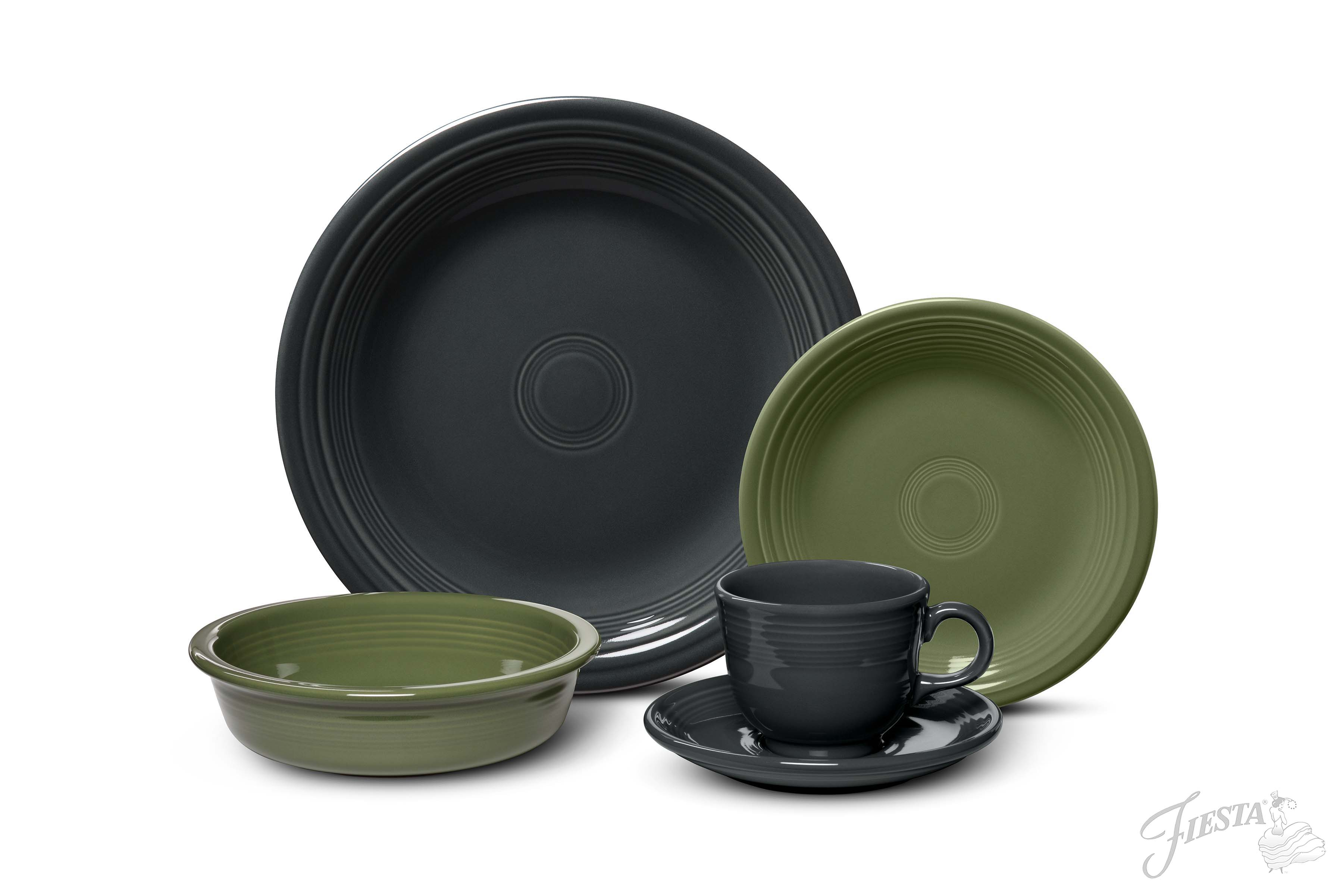 Mixed_5pc_Sage_Slate1  sc 1 st  Kitchenware News & Fiesta Dinnerwareu0027s New Color Introduction Is Twice As Nice ...