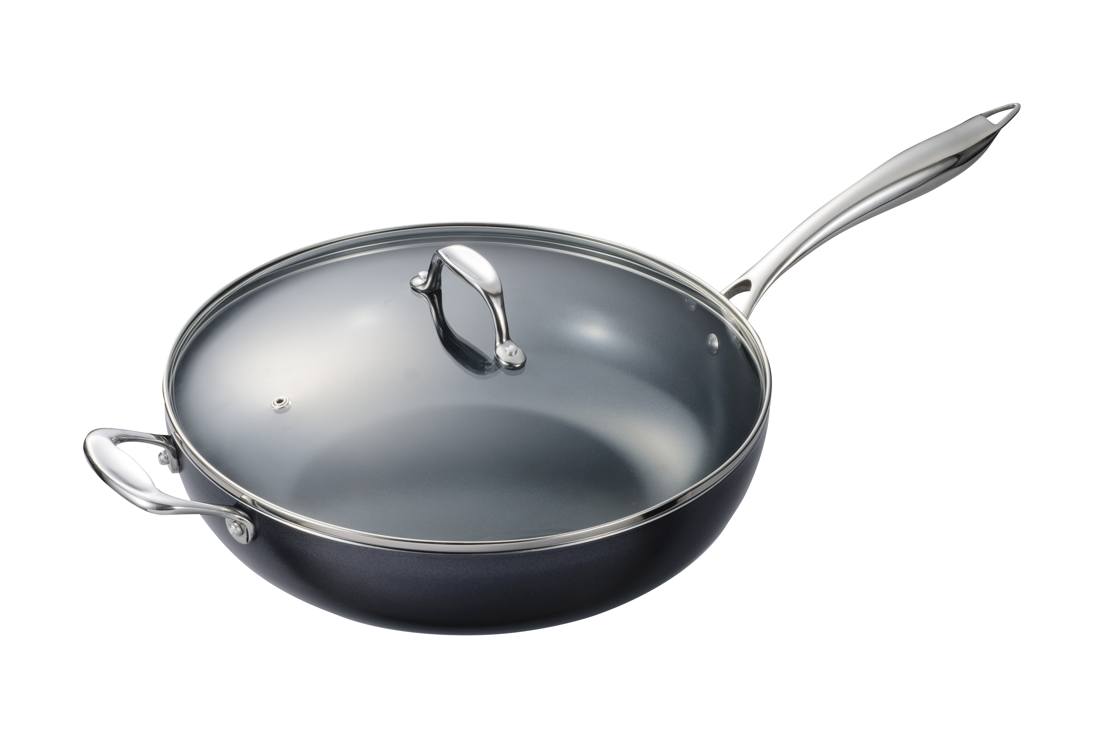 Kyocera Versatile Nonstick Wok With Lid Kitchenware News