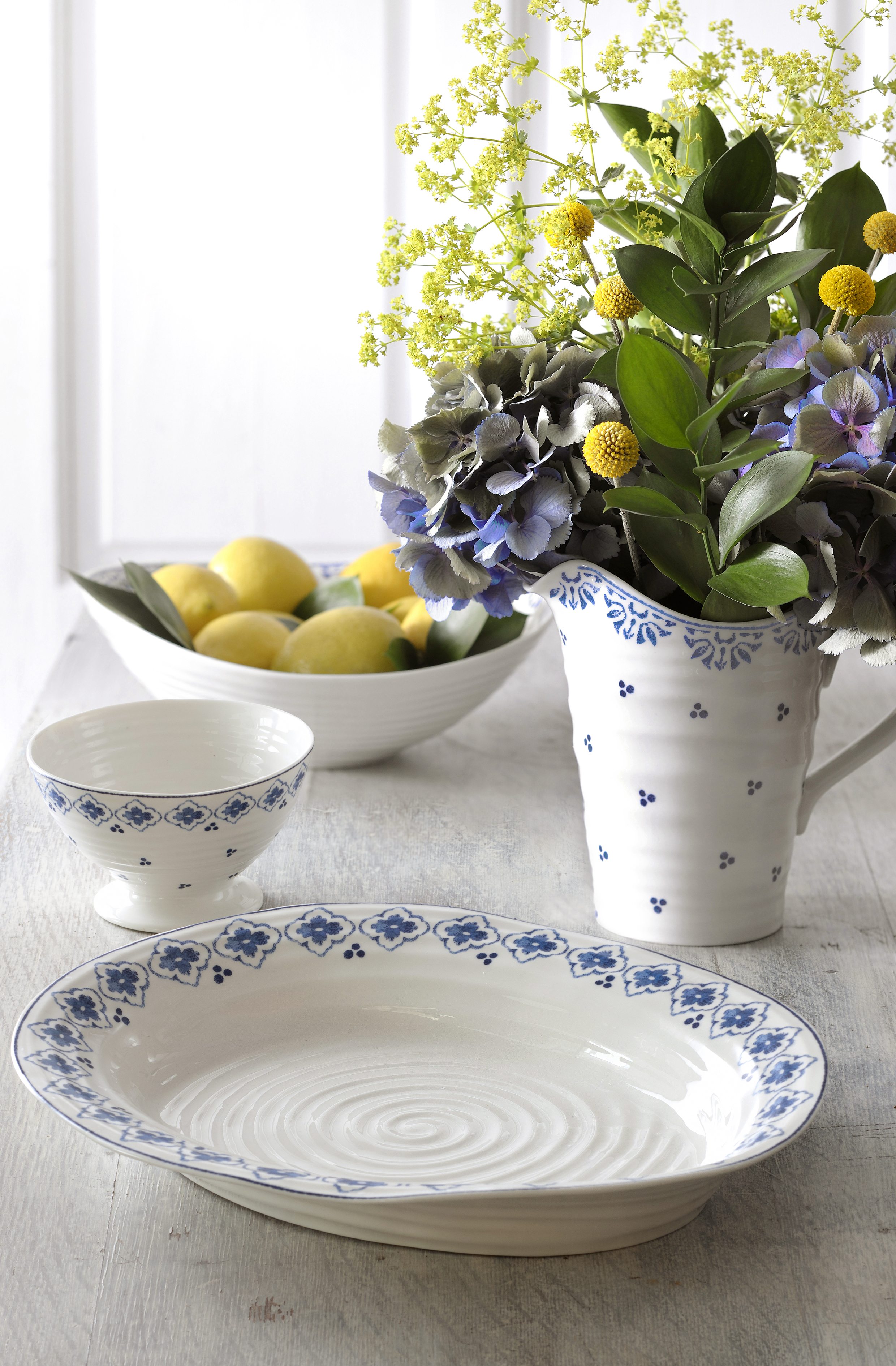 Introducing Sophie Conran For Portmeirion Blue Amp White