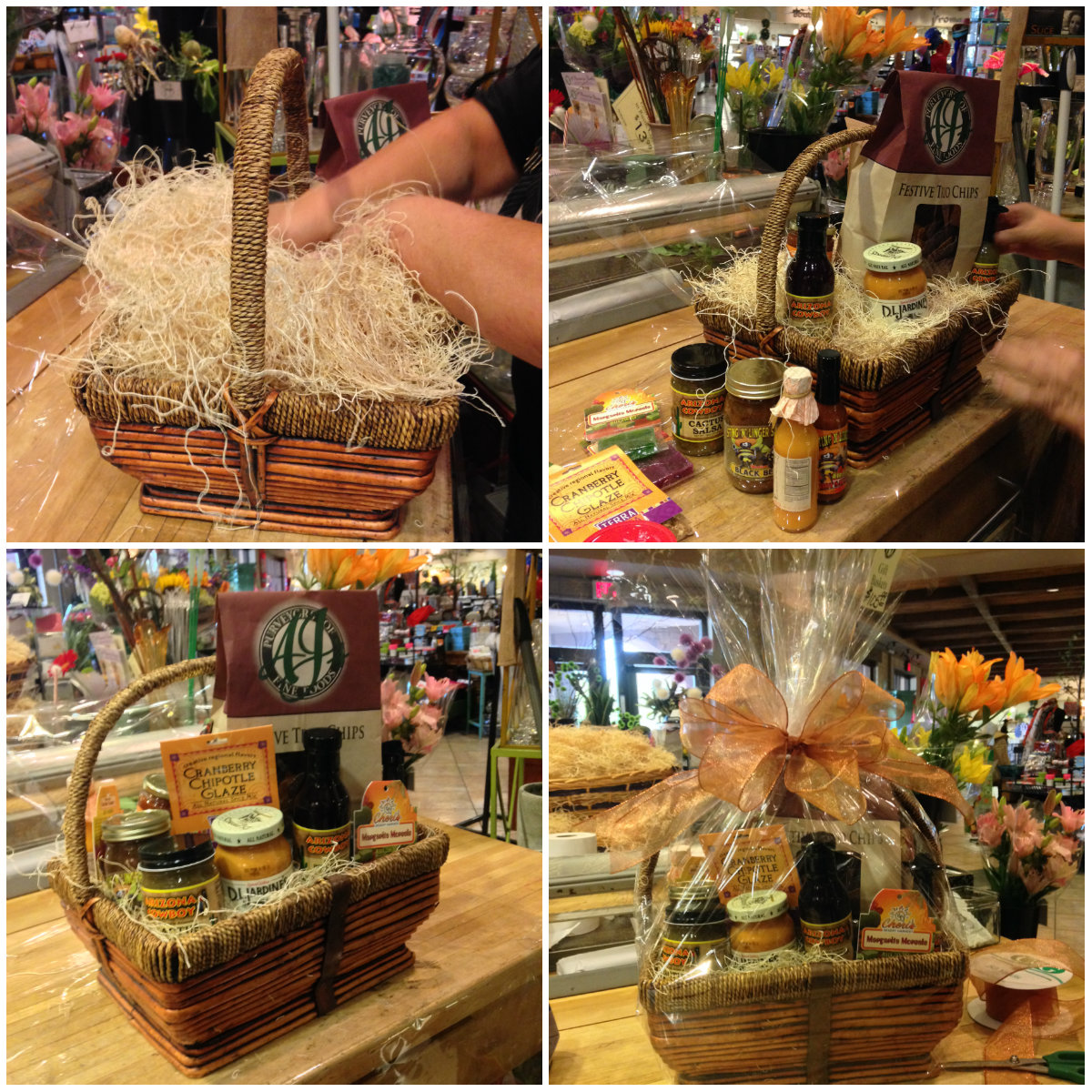 Make Yourself Gift Basket Ideas: Gift Baskets: From Base To Bow