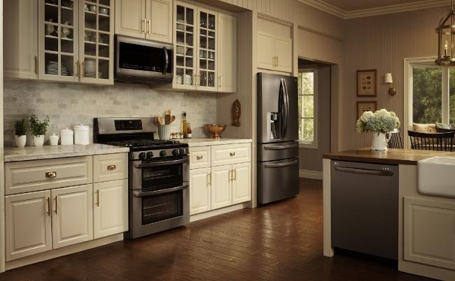 LG Debuts 39 Black Stainless Steel 39 Kitchen Appliances Kitchenware